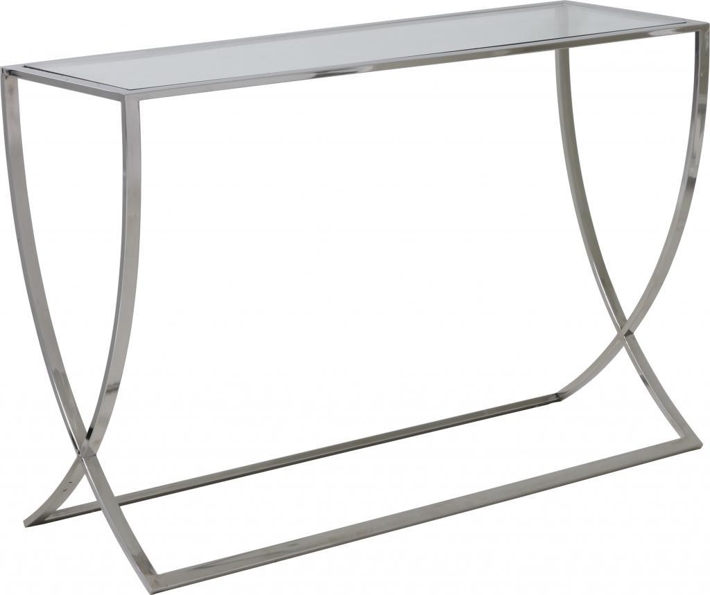 Side Table Grijs.Sidetable Molina Grijs En Transparant Glas En Metaal